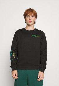 Carlo Colucci - UNISEX - Sweatshirt - black reflective - 0