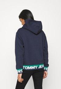 Tommy Jeans - BRANDED HEM HOOD - Sweat à capuche - twilight navy - 2