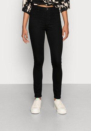 ONLFHI MAX LIFE BOX - Skinny džíny - black
