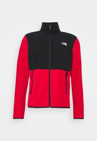 The North Face - GLACIER FULL ZIP JACKET  - Fleece jacket - red/black - 3