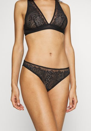 WAVE BRAZILIAN - Slip - black