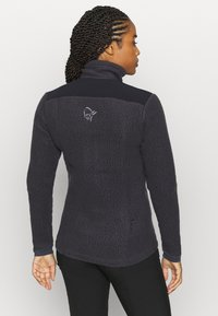 Norrøna - TROLLVEGGEN THERMAL PRO JACKET - Fleece jacket - dark grey - 2