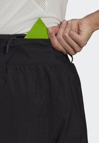 adidas Performance - 3-STRIPES SPORTS LOOSE - T-shirts med print - black/white - 4