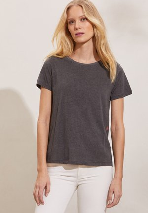 DAPHNE - Print T-shirt - asphalt