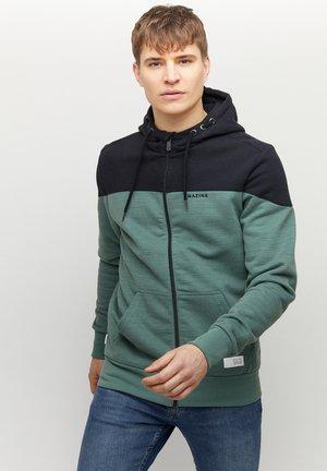 Zip-up hoodie - black forest