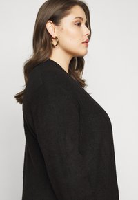 New Look Curves - CARDIGAN - Cardigan - black - 3