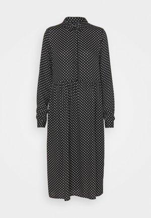 VMFIE DRESS  - Skjortekjole - black/birch dot