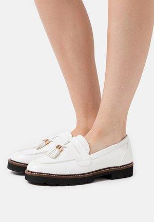 LEIGH LOAFER - Scarpe senza lacci - white