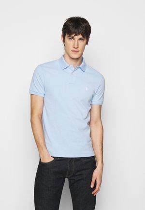 SLIM FIT MESH POLO SHIRT - Polo shirt - elite blue