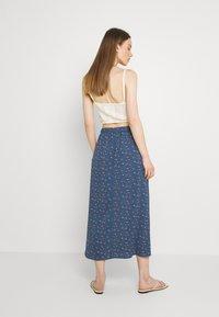 ONLY - ONLNOVA LUX BUTTON SKIRT - A-line skirt - bering sea - 2