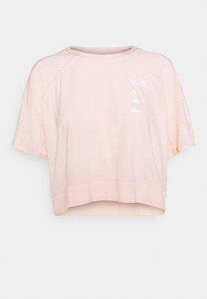 GLACIER TEE  - Print T-shirt - pearl blush