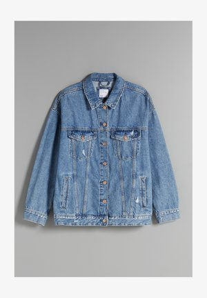 OVERSIZE - Denim jacket - blue denim