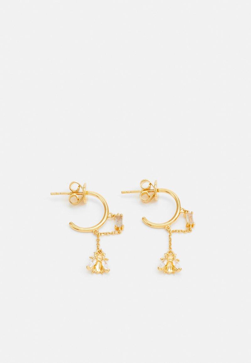 PDPAOLA - BREEZE - Boucles d'oreilles - gold-coloured