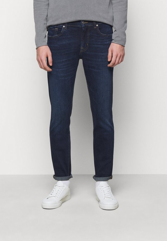 TEK ORION - Jean slim - dark blue
