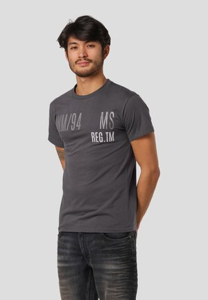 LEYLAND  - Print T-shirt - iron grey