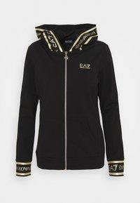 EA7 Emporio Armani - Mikina na zip - black - 0