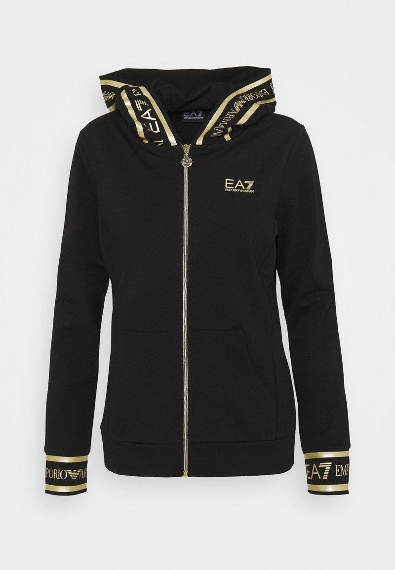 EA7 Emporio Armani - Mikina na zip - black