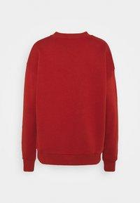 2nd Day - THINK TWICE - Sweatshirt - red ochre - 1
