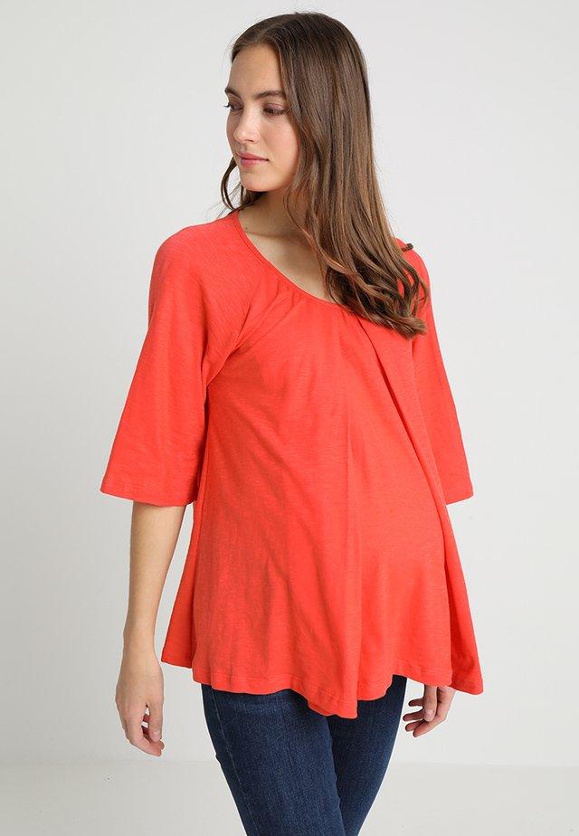 BREEZE - T-shirt basic - poppy