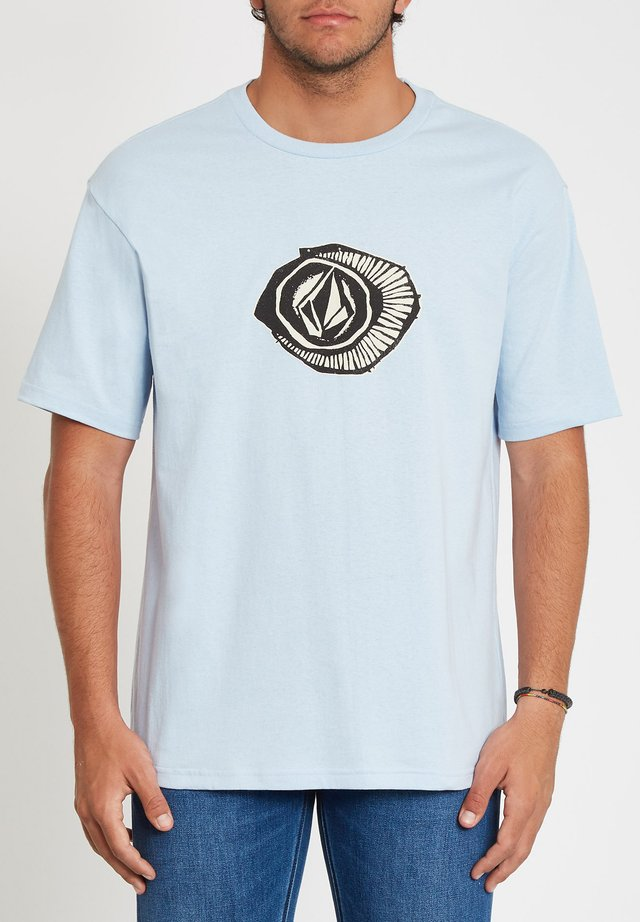 SICK 180 LSE SS - T-shirt con stampa - aether_blue