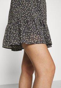Stella Nova - LOUISA - Mini skirt - dark blue/multicoloured - 4
