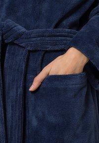 CAWÖ - LAGO - Dressing gown - nachtblau - 5