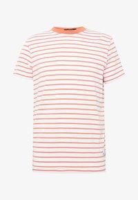 JPRNOAH TEE CREW NECK - T-shirt print - white