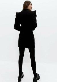 Uterqüe - Shirt dress - black - 2