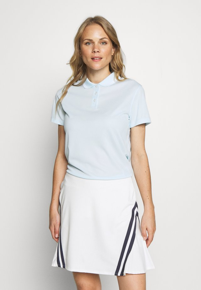 DRY VICTORY - Sports shirt - topaz mist/white