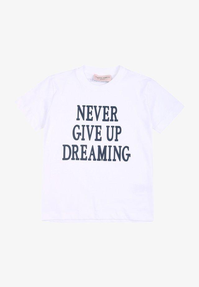 ALBERTA FERRETTI - T-shirt print - offwhite