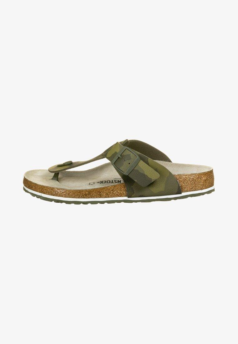 Birkenstock - MEDINA - Slippers - camo green