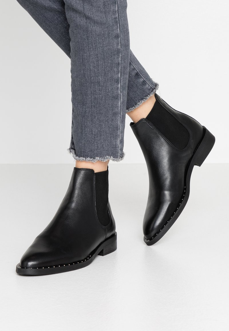 Bianco - BIACAMBRIE - Ankle boots - black