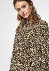 JDY - JDYPIPER DRESS - Skjortekjole - black/yellow - 6