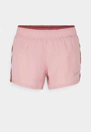 10K SHORT - Sports shorts - pink glaze/canyon rust/wolf grey