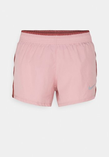 10K SHORT - Sports shorts - pink glaze/canyon rust/wolf grey