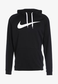 Nike Performance - DRY PO - Hoodie - black/white - 3