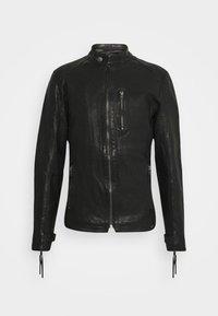 Tigha - HUTCH - Leather jacket - black - 5