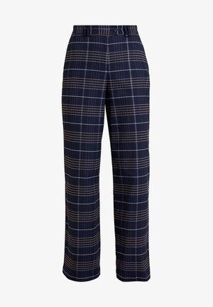 PANTS WIDE LEG HIGH RISE - Trousers - combo