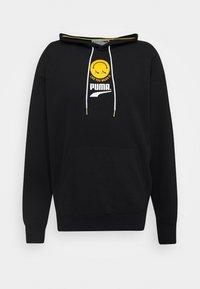Puma - CLUB HOODIE UNISEX - Zip-up hoodie - black - 0