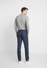 Burton Menswear London - HIGHLIGHT CHECK - Pantalon classique - blue - 2
