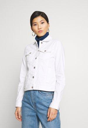 COLORED JACKET - Denim jacket - white
