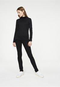 ARMEDANGELS - MALENAA - Long sleeved top - black - 1