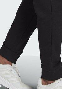 adidas Performance - SL ESSENTIALS SPORTS FRENCH TERRY PANTS - Pantaloni sportivi - black - 4