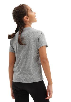 GR SKULL BOX - Print T-shirt - cement heather