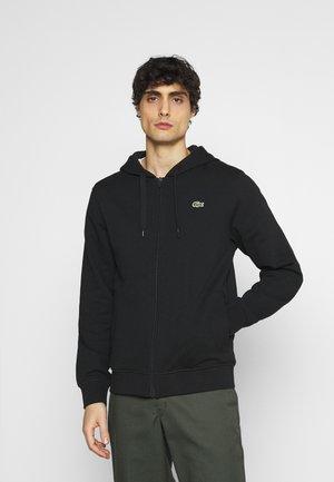 CLASSIC HOODIE - Bluza rozpinana - black