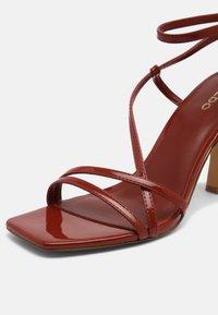 ALDO - RENDALITH - Sandals - medium red - 7
