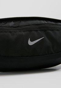 Nike Performance - CAPACITY WAISTPACK 2.0 SMALL - Bum bag - black/black/silver - 7