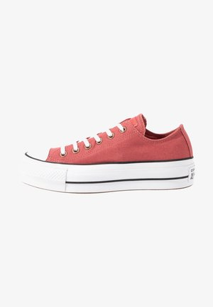 CHUCK TAYLOR ALL STAR LIFT SEASONAL - Sneaker low - light redwood/white/black