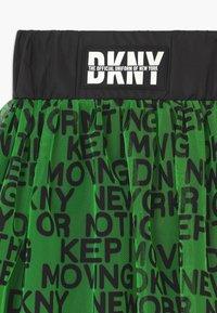 DKNY - A-line skirt - fluo green - 2
