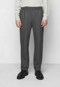 Won Hundred - CHASE - Trousers - black/grey - 0